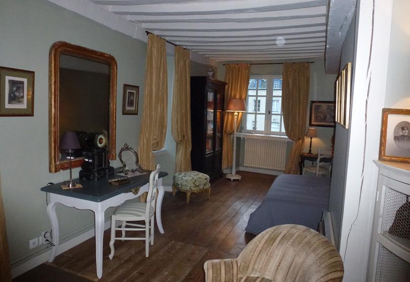 HOTEL TANQUEREY DE LA ROCHAISIÈRE - La chambre Chausey